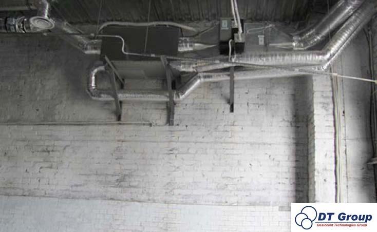 Адсорбційний роторний осушувач повітря Desiccant Technologies Group MDC2000