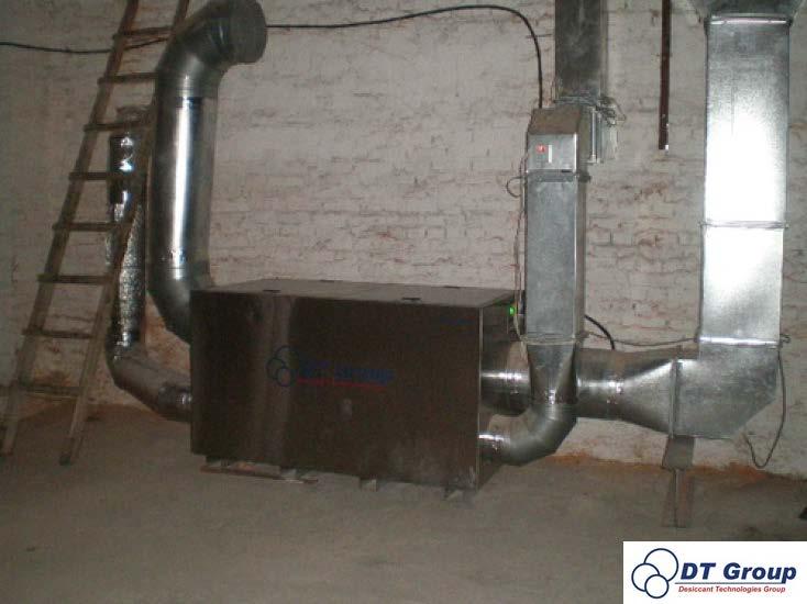 Адсорбційний роторний осушувач повітря Desiccant Technologies Group MDC4000