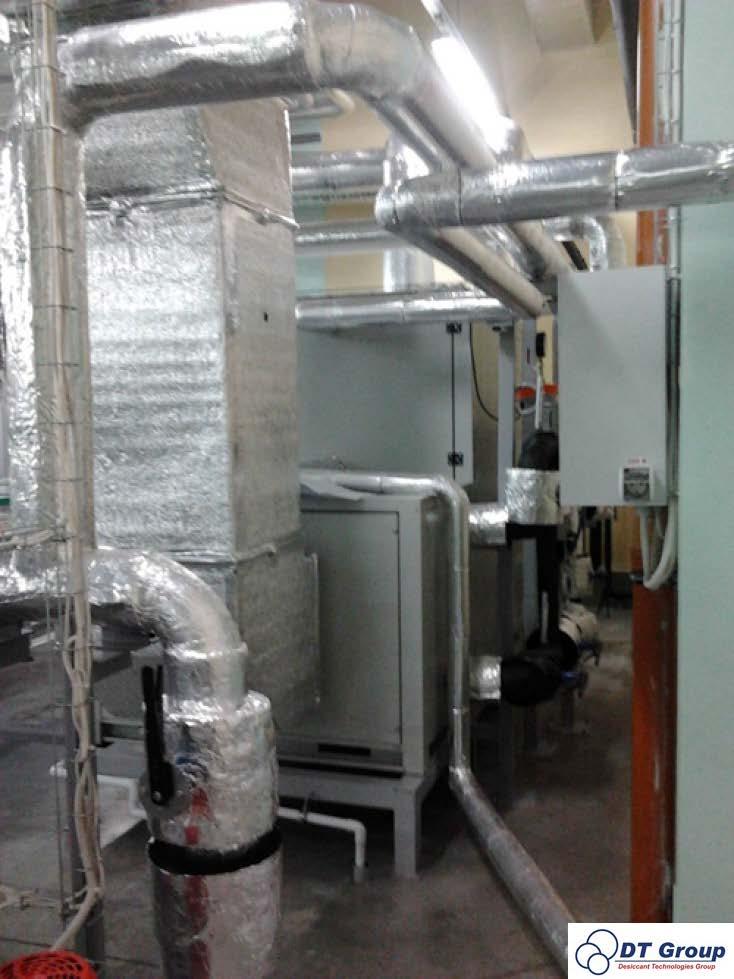 Осушитель воздуха для фармацевтической фабрики
